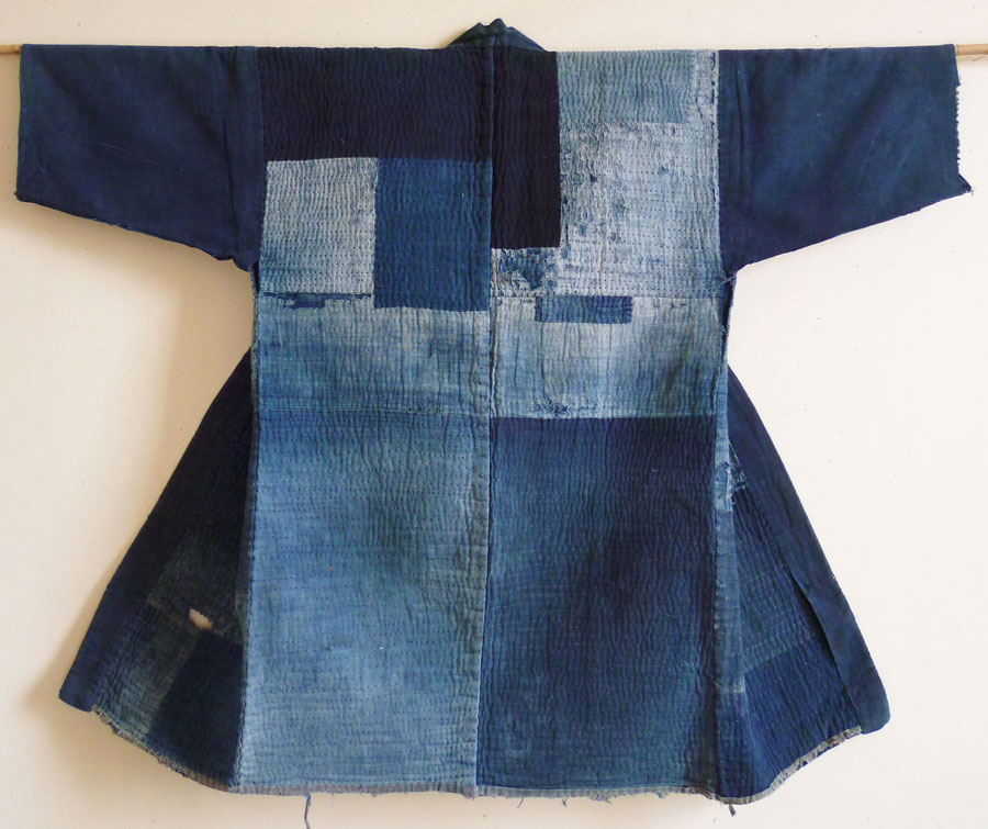 Sri Threads_Japanese mended boro garment