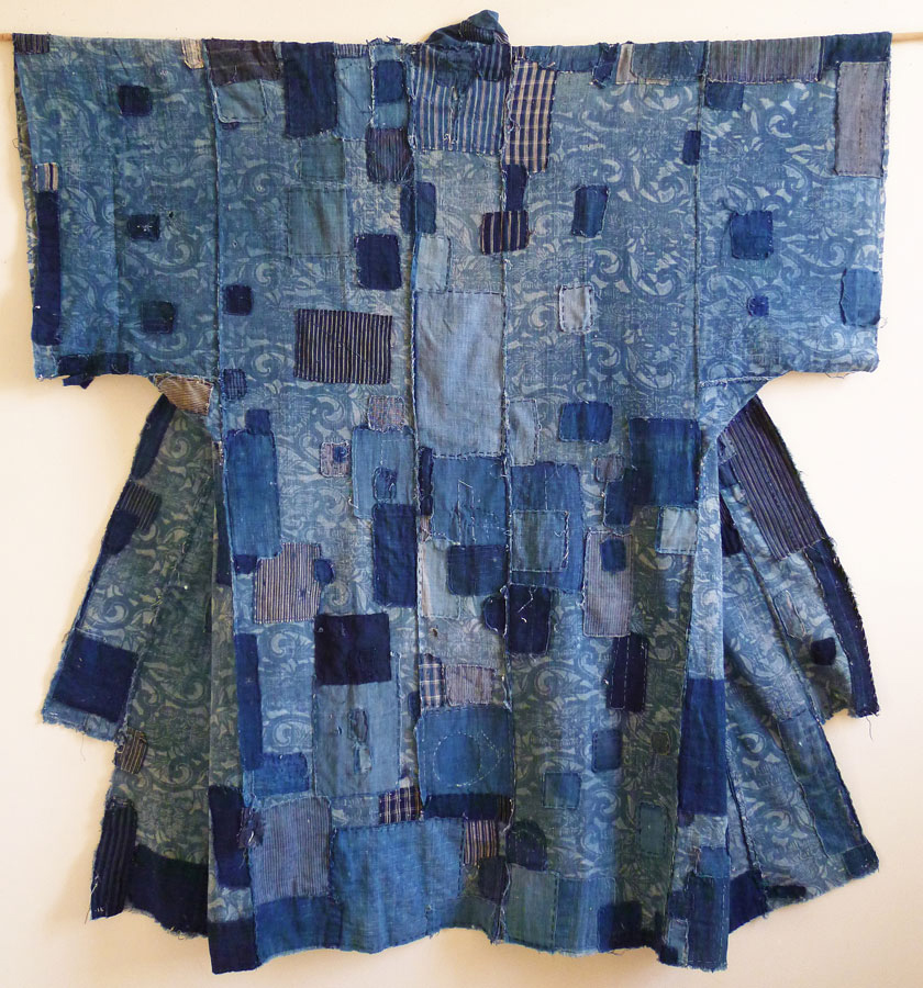Sri Threads_Japanese patched boro kimono