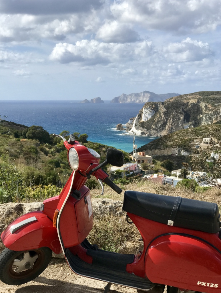 A September holiday on the island of Ponza, Italy