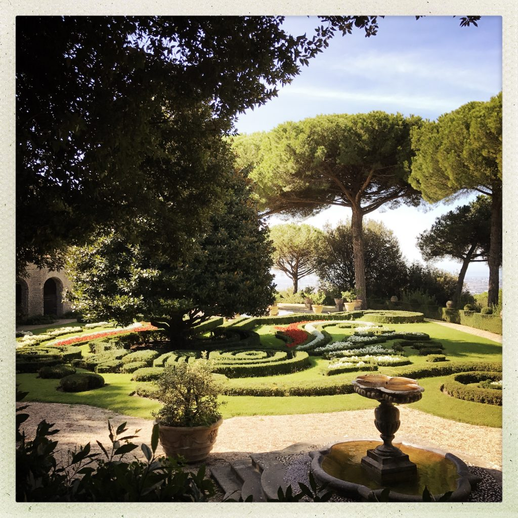 The Splendid Papal Gardens of Castel Gandalfo