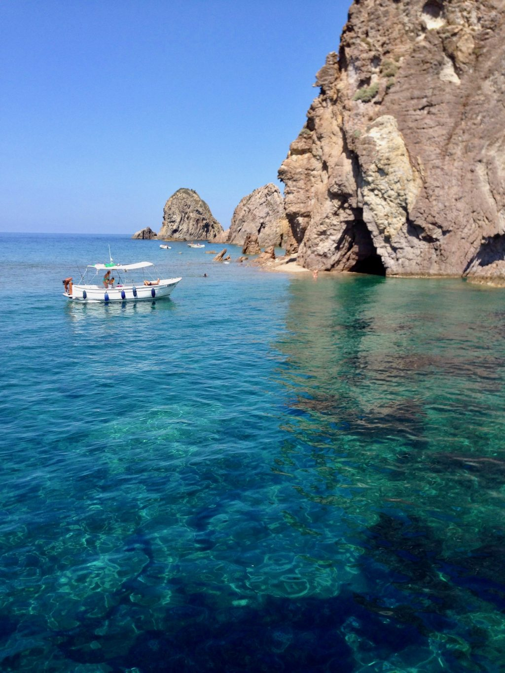 Exploring the Azure Coves of Ponza