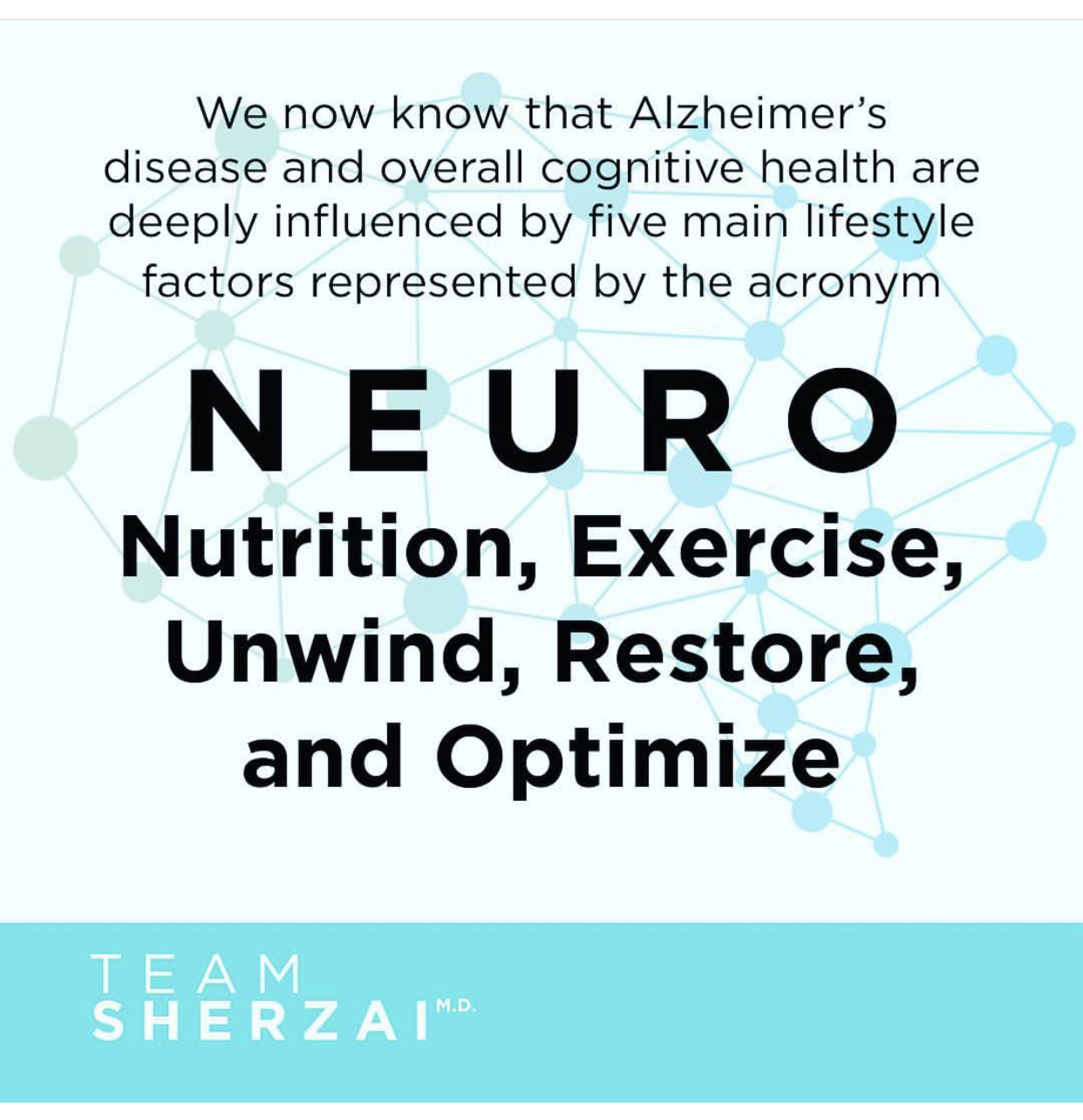 Team Sherzai_NEURO program