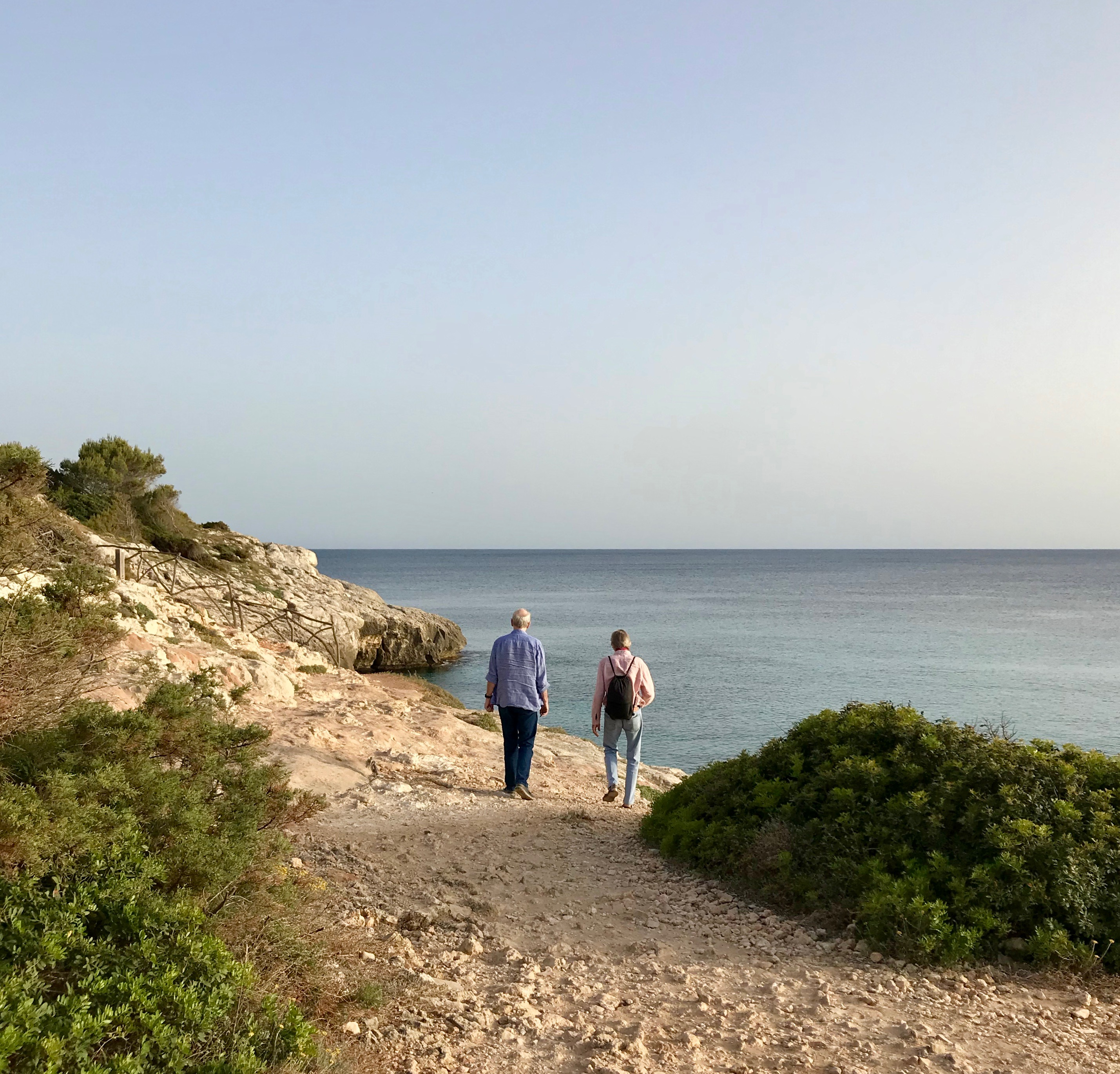 Menorca cliff walk