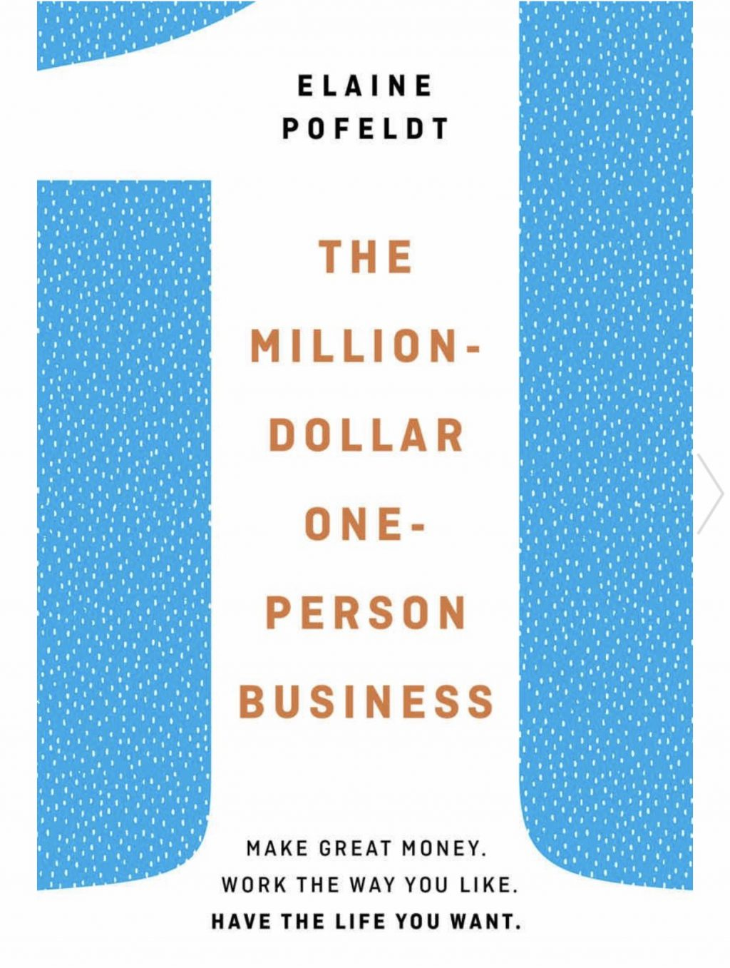 The Million-Dollar One-Person Business by Elaine Pofeldt